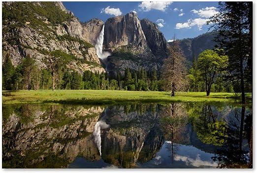 Art print POSTER CANVAS Yosemite Falls