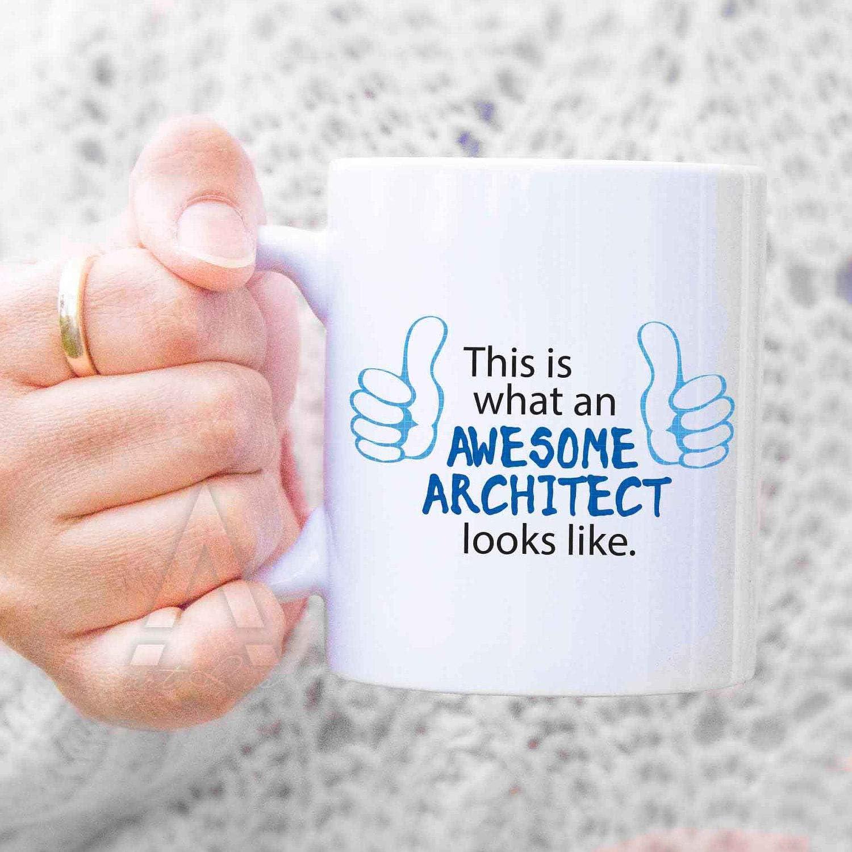 Taza de café para arquitecto, regalo de arquitecto, regalo de arquitecto, regalo de arquitecto, regalo de arquitectura, regalos para arquitectos MU419