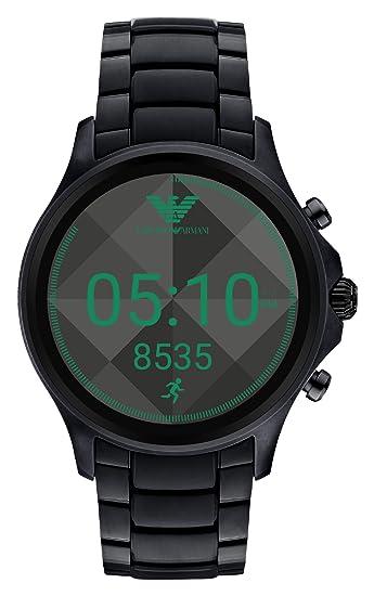 80b2abddf47b Emporio Armani Reloj Hombre de Digital con Correa en Acero Inoxidable  ART5002  Amazon.es  Relojes