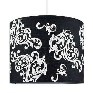 plafond Abat-jour en m/étal Favolook g/éom/étrique vintage industriel en acier Noir Suspension Pince de protection pour ampoule E27/Lampe de lumi/ère Cage /à oiseaux