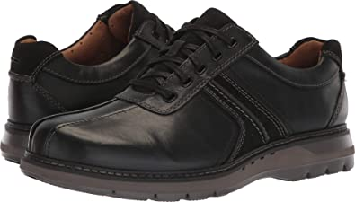 293ff5645f86c Image Unavailable. Image not available for. Color: CLARKS Men's Un Ramble  Go Black Leather ...