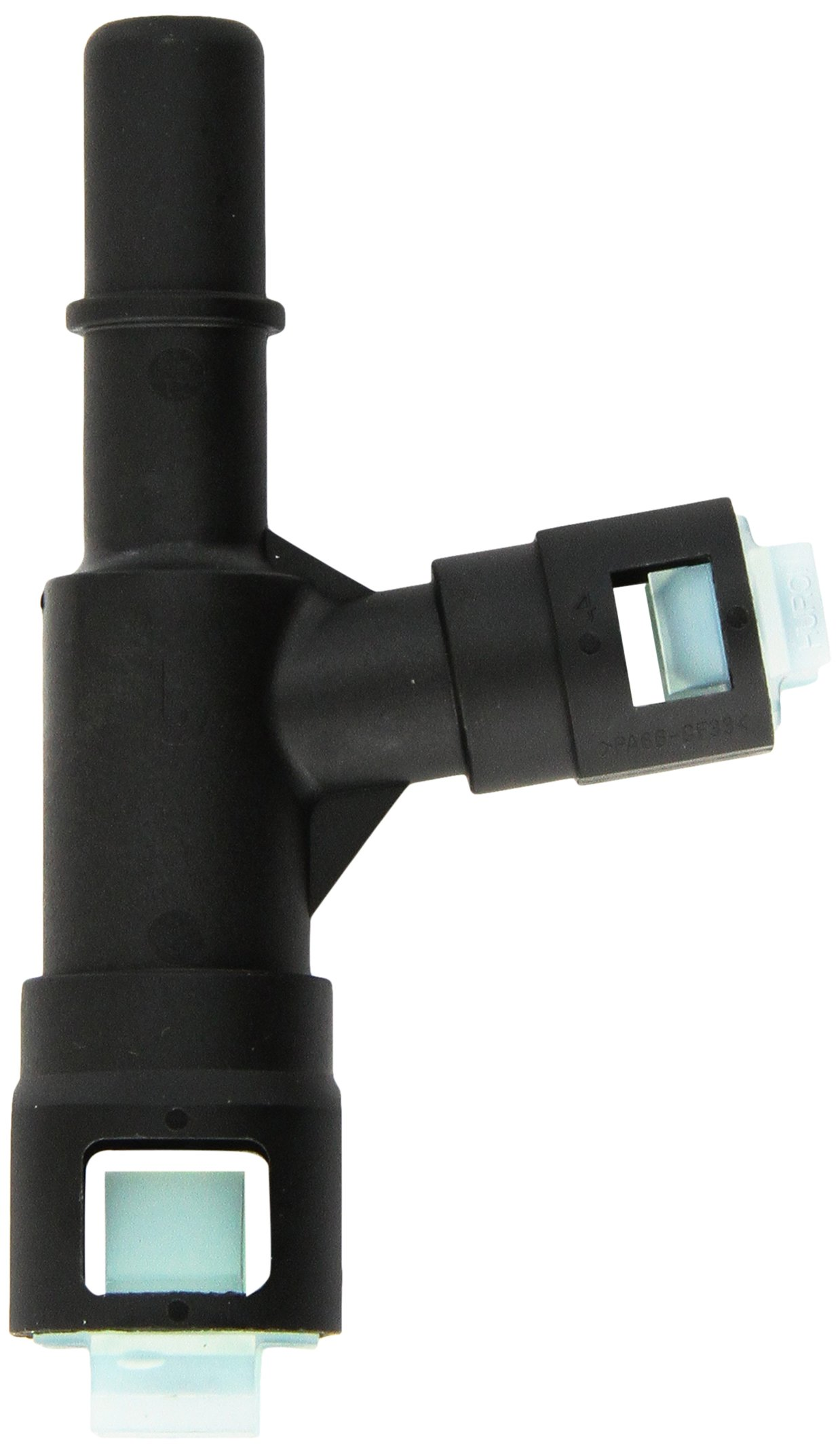 Genuine Gm 15055342 Auxiliary Heater Inlet Hose Tee 2003 Chevy Tahoe Core Connector Black Automotive