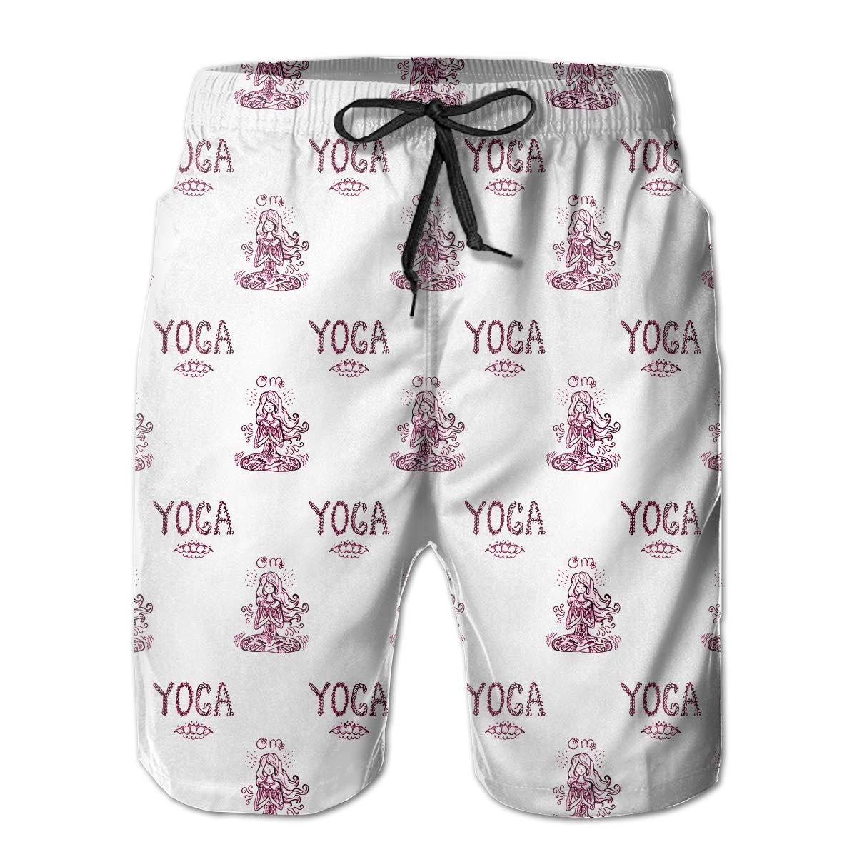Mens Soft Hawaii Waves Camper Vintage Beach Shorts Swim Trunks Board Shorts