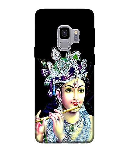 For Samsung Galaxy S9 Lord Krishna Wallpaper God Amazon In Electronics