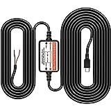 Mini USB Hardwire Kit for Dash Cam 12V-24V Car Charger Cable Kit Low Voltage Protection for Car Dash Cameras