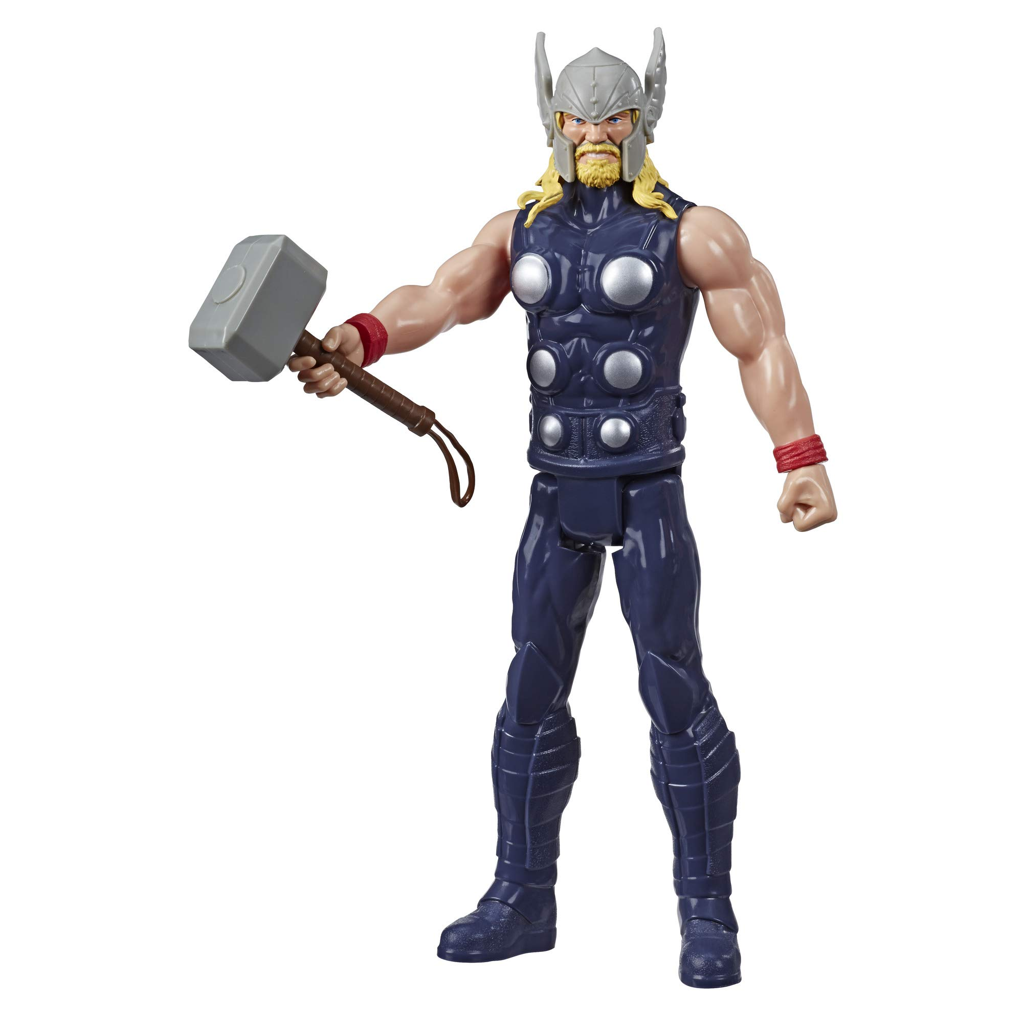 """Avengers Marvel Titan Hero Series Blast Gear Thor Action Figure, 12"""" Toy, Inspired by The Marvel Universe, for Kids Ages 4 & Up"""
