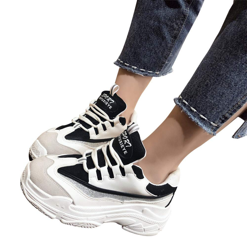 Gyoume Teen School Sports Shoes Lace Up Running Shoes Work Out Shorts Boots Shoes Leisure Shoes