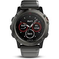 Garmin Fenix 5X Reloj GPS multideporte Zafiro 52mm Gris Pizarra/extensibles de Metal
