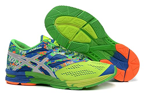new arrival bed5c 41360 ASICS Men s GEL-Noosa Tri 10 Running Shoe,Flash Yellow Lightning Blue