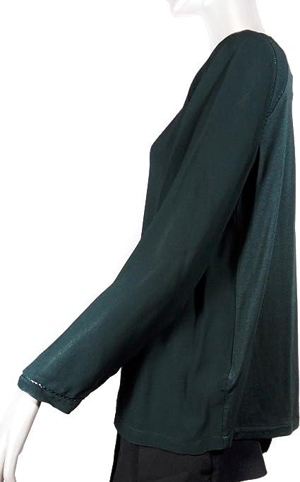 MASSIMO DUTTI Camisas - Para Mujer Verde Verde XL: Amazon.es ...