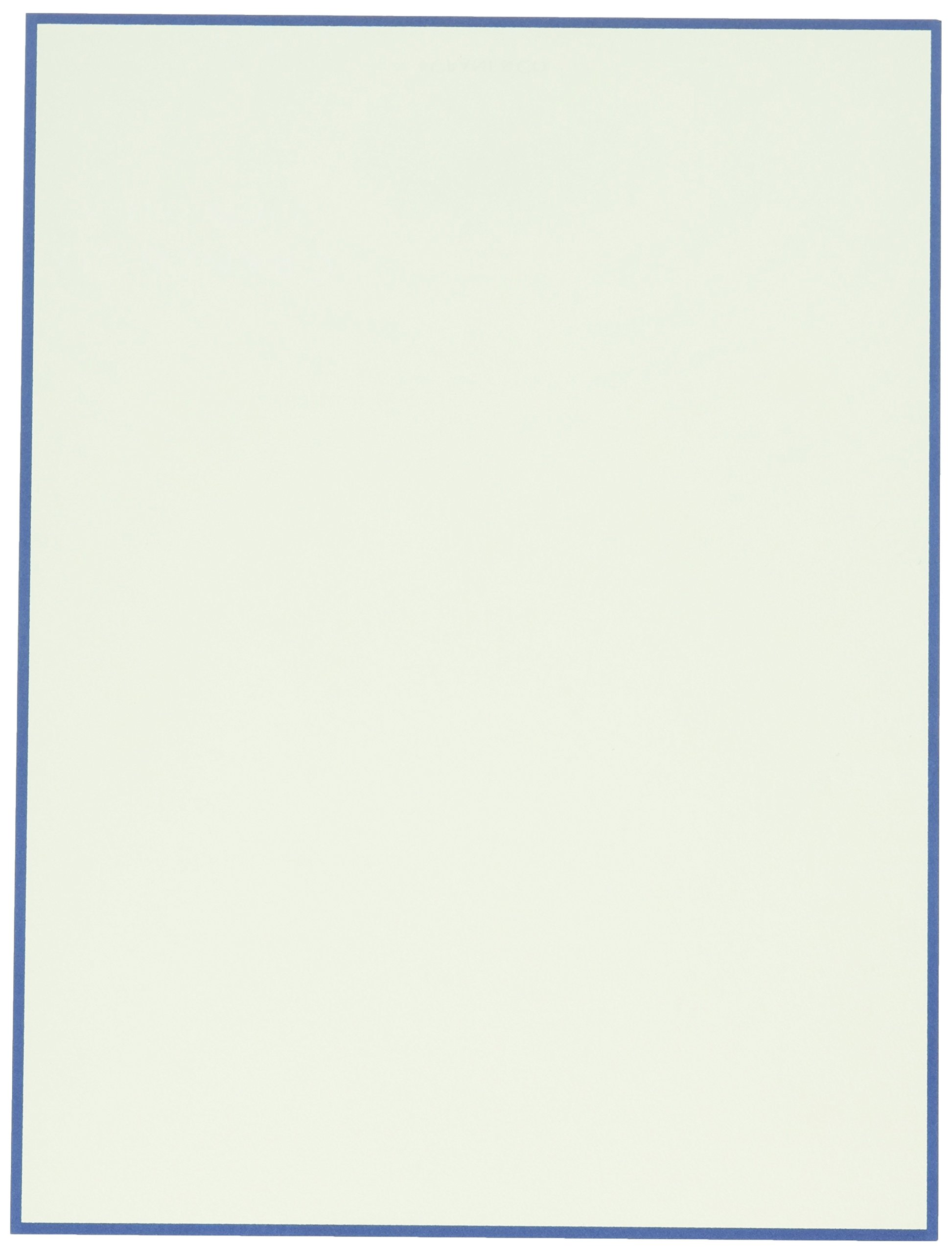 Crane /& Co Regent Blue Triple Hairline Half Sheet CH3301