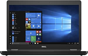 Dell Latitude 14 5000 5480 Business Laptop: 14in HD (1366x768), Intel Core i7-6600U, 500GB HDD, 8GB DDR4, NVIDIA 930MX 2GB GDDR5 vRAM, WiFi + Bluetooth, Windows 10 Professional (Renewed)