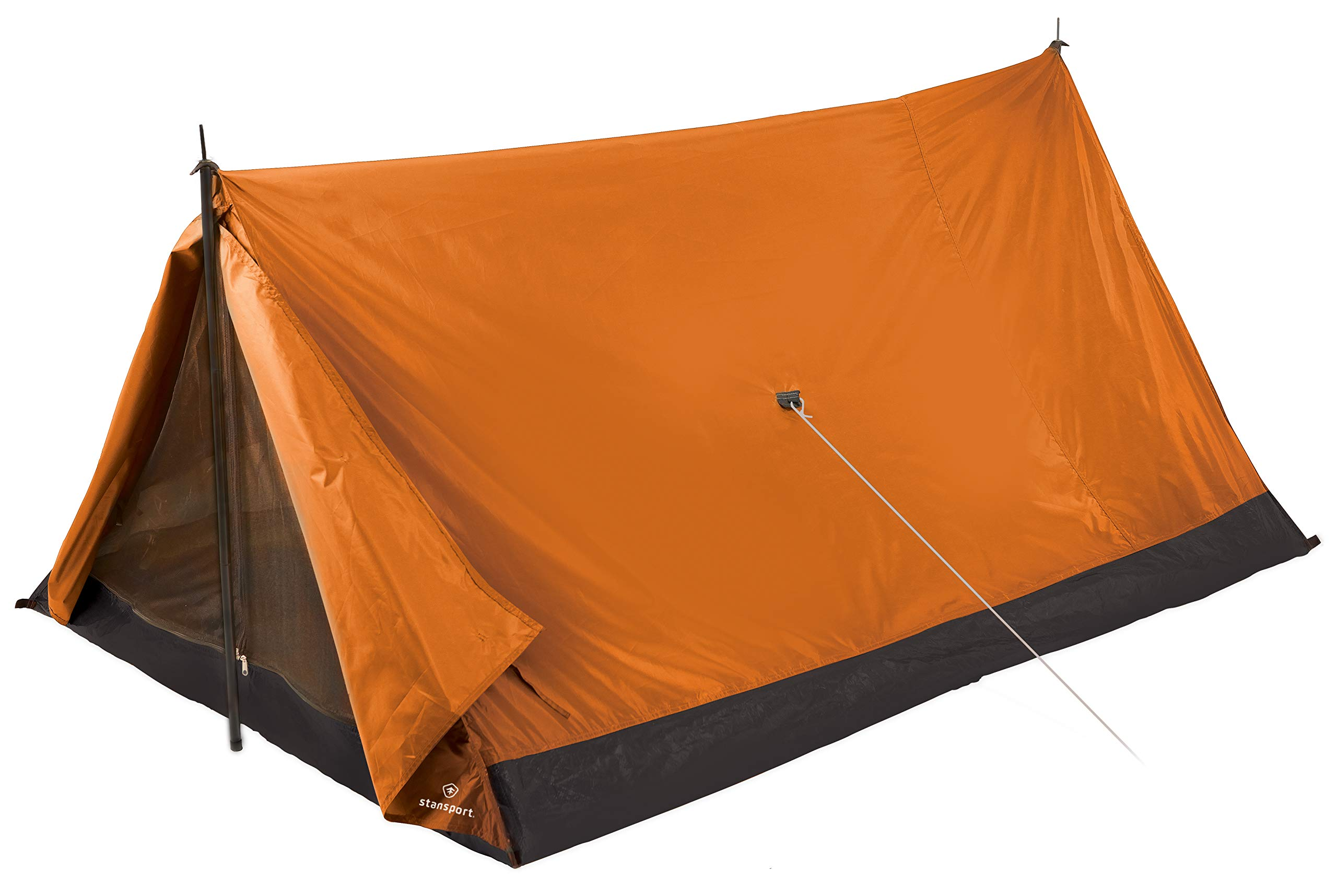 Stansport Scout Backpack and Camping Tent, Orange by Stansport