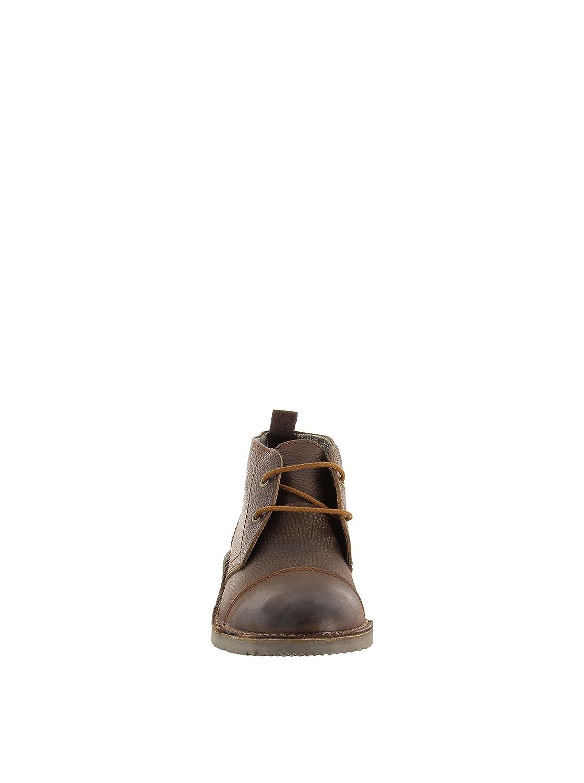 Fosco Media, Botines para Hombre, Moka, 40 EU: Amazon.es: Zapatos y complementos