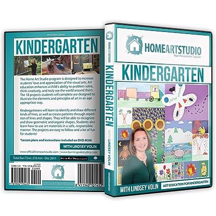 Amazoncom Home School Art Studio Program Dvd With Lindsey Volin