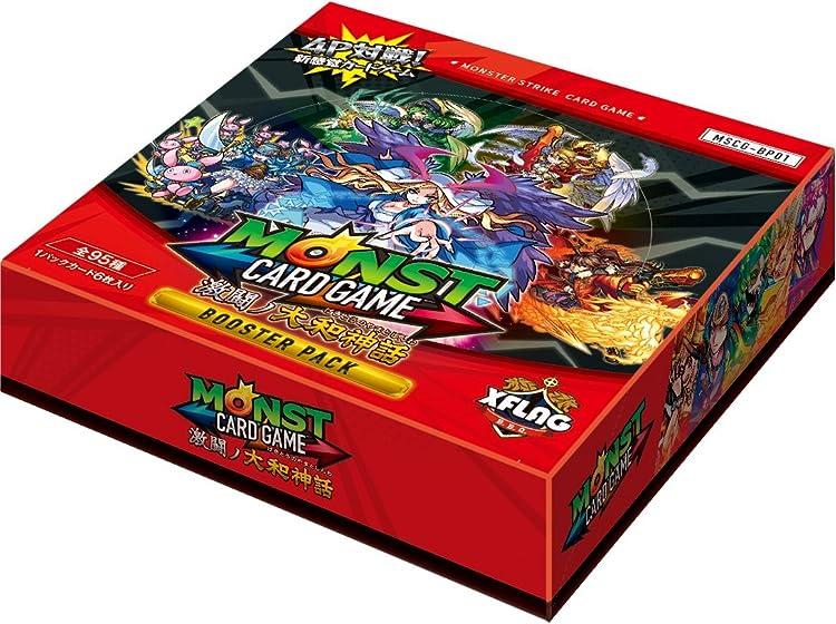 モンスターストライクカードゲーム激闘ノ大和神話ブースターパックBOX