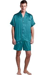 Conjunto De Pijamas De Seda Clásico Corto 22 Momme Varios Colores Y Tallas