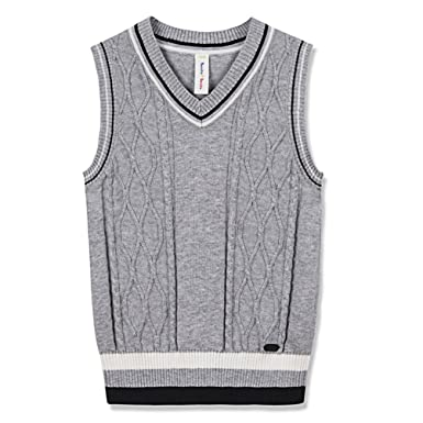 148794d4bb6a Amazon.com  Benito   Benita Sweater Vest School Vest V-Neck Uniforms ...