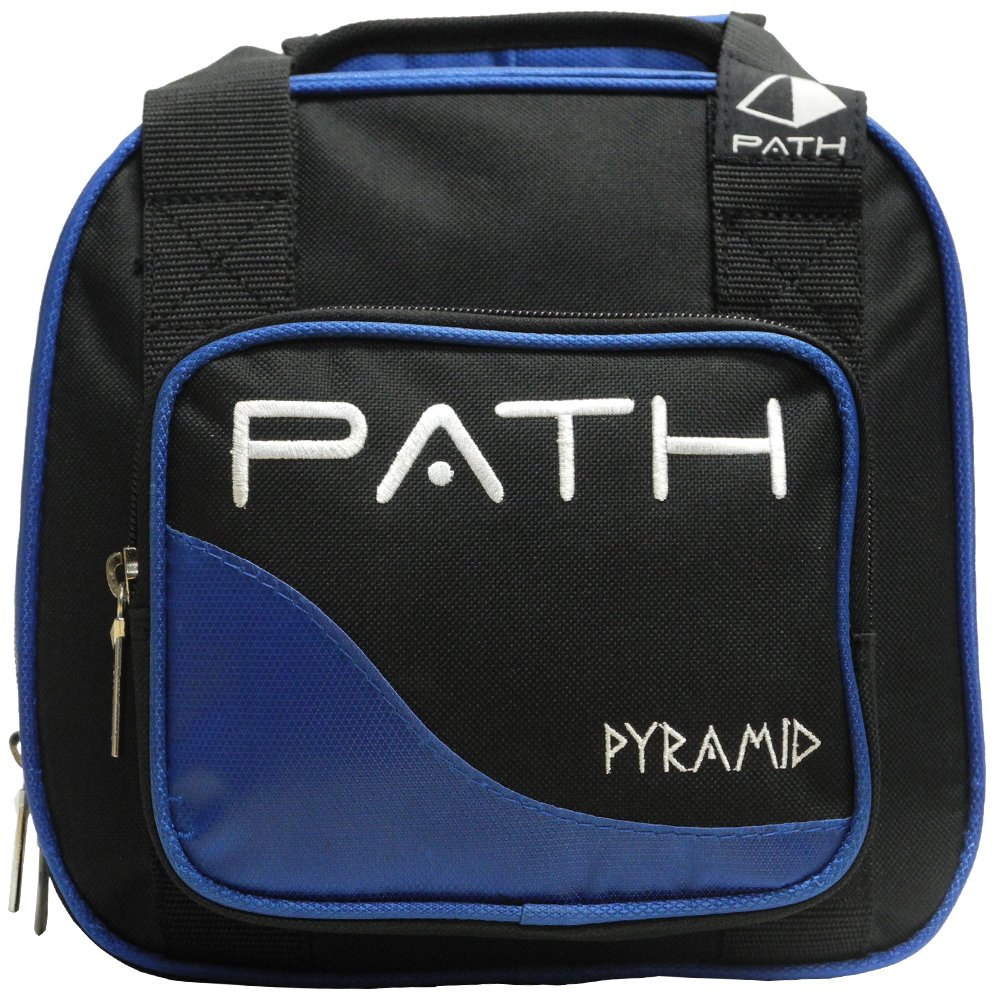 Pyramid Path Plus One Spare Tote Bowling Bag (Black/Royal Blue) by Pyramid