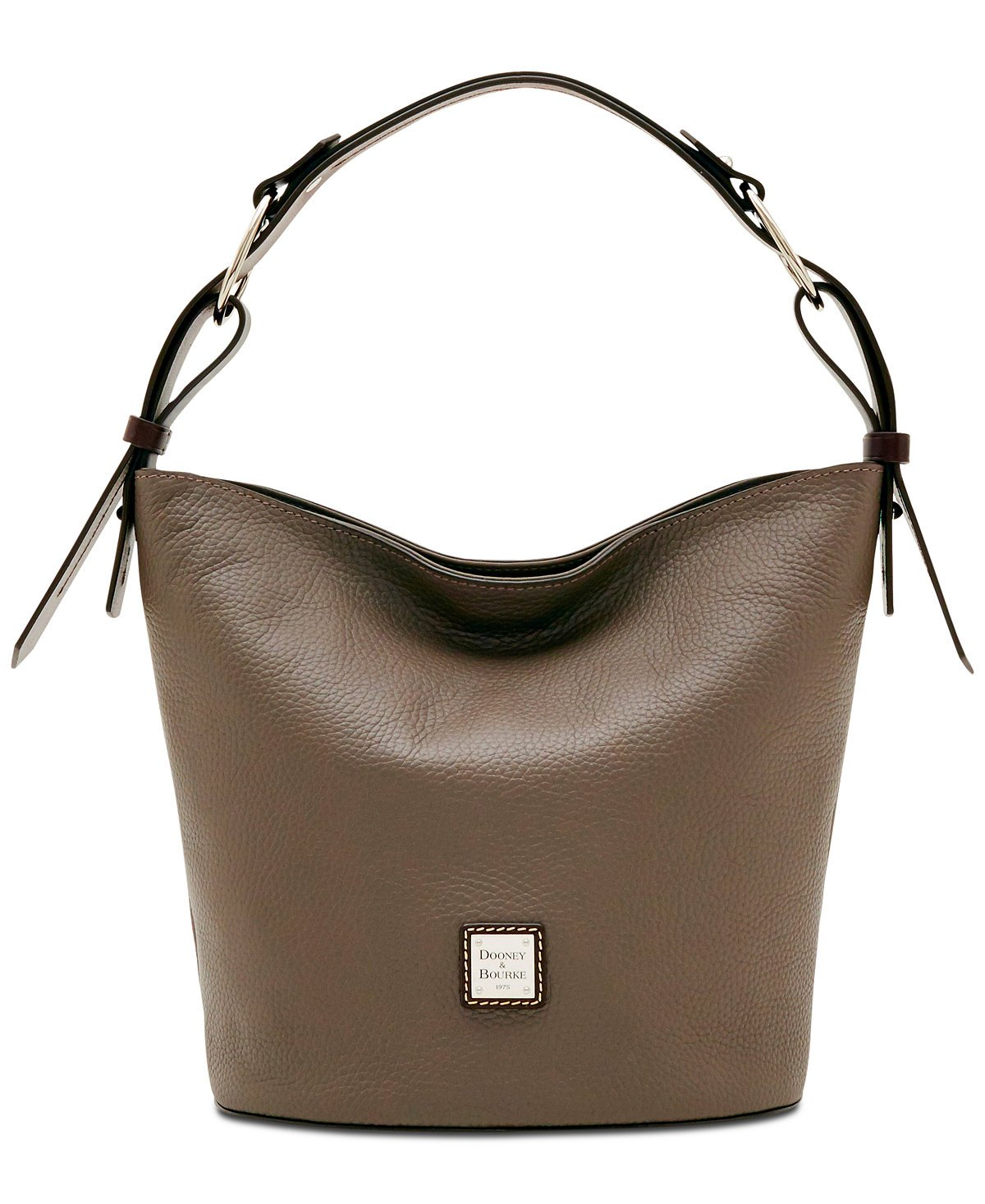 Dooney & Bourke Henley Small Leather Feedbag (Taupe)