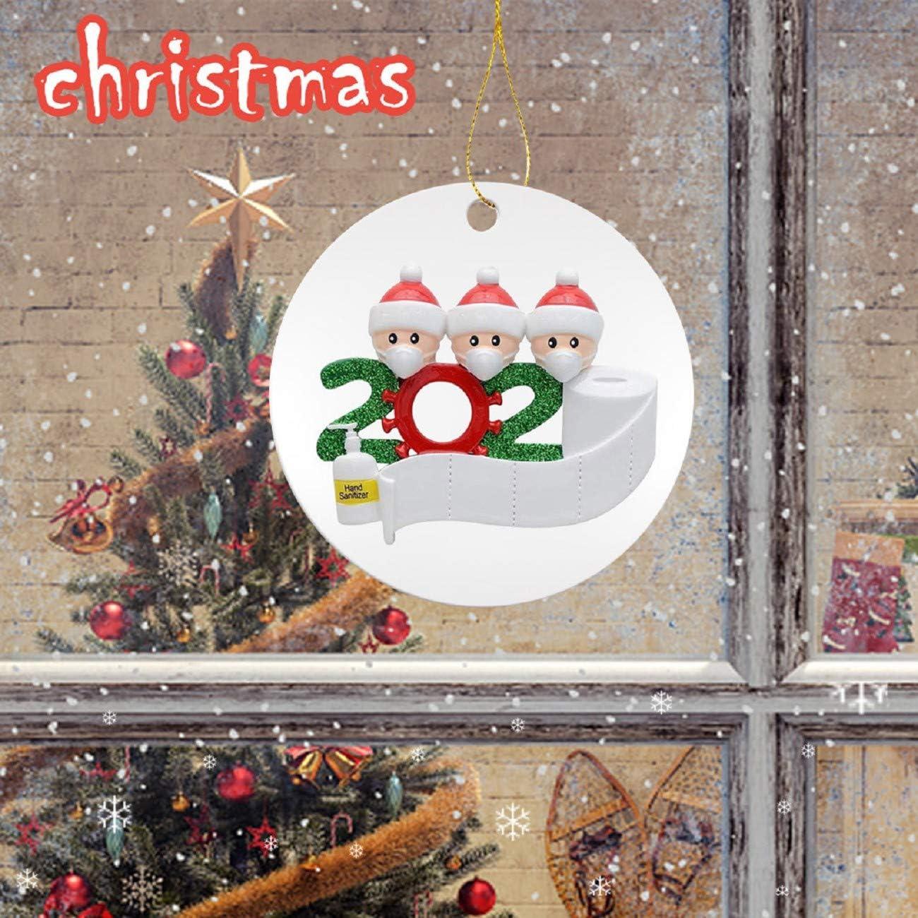 SUNTEAMO 2020 New Christmas Tree Decoration Lighted Pendant Faceless Old Man Pendant