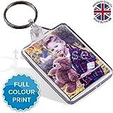 Personalised Custom Photo Gift Keyring Key Fob 50 x 35 mm | Medium Size