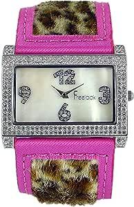 فري لوك ساعة انالوج للنساء - جلد، متعدد الالوان، HA8133-5