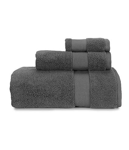 Amazon.com  Lauren Ralph Lauren Wescott Wash Cloth Stadium Grey ... 808b3be0b01c