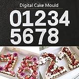 Kalttoy Zahlen Form Kuchen Prage Cutter Dekorieren Schablone Zucker