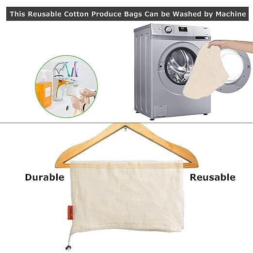 bolsas reutilizables compra,juego de 10 Bolsas de artículos de ...