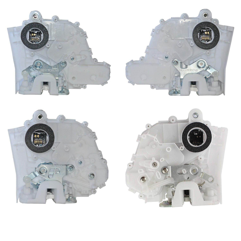 4 PCS Door Lock Actuator Kit Set For Honda CR-V CRV EX EX-L LX 2.4L-Front + Rear