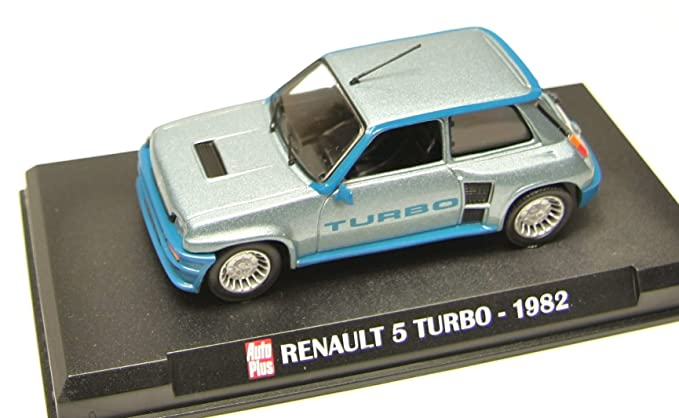 Générique DIECAST Car 1:43 Renault 5 Turbo 1982 R5: Amazon.es: Juguetes y juegos