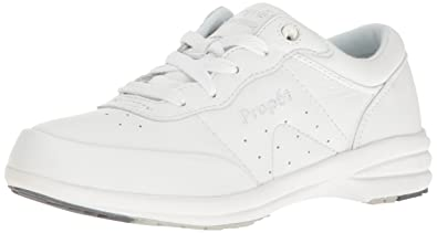 65e16d80ed Propet Women's W3840 Washable Walker Sneaker,White,5 M (US Women's ...