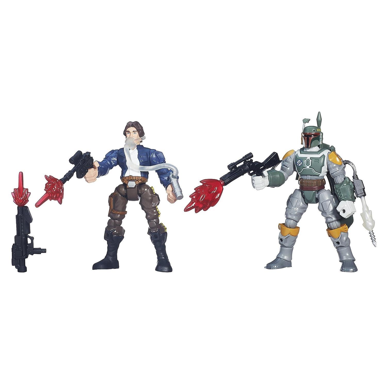 Star Wars Hero Mashers Luke Skywalker vs Darth Vader B3829AS0