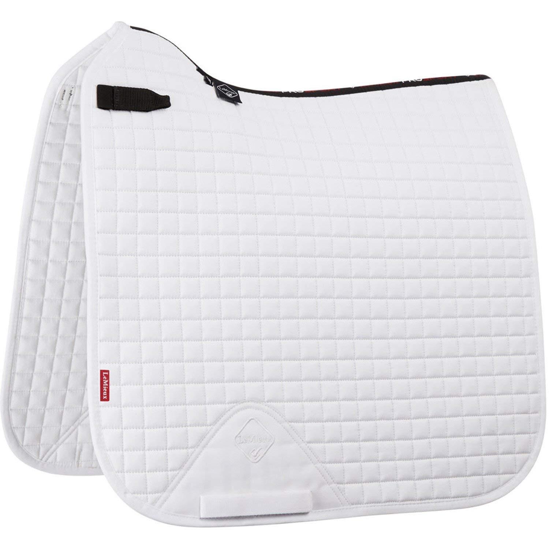Lemieux ProSport Dressage Square D Ring Saddle Pad Large White