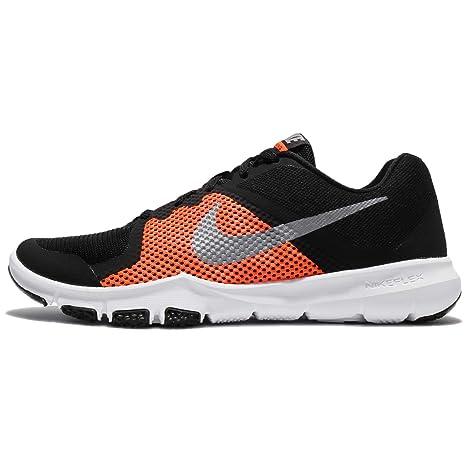 Nike Flex Control - Zapatillas Deportivas, Hombre, Negro - (Black/Mtlc Cool