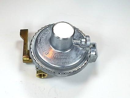 Propane Regulator Two Way Valve for Two Tanks LP Gas Low Pressure