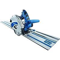 Scheppach PL55 5901802915 Scie plongeante 1,2kW, 230V, 50Hz–2x 700mm + rail anti-basculement