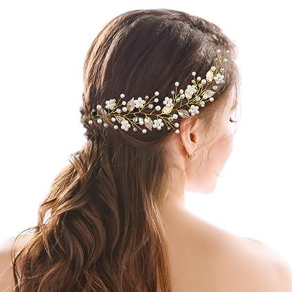 handcess boda diadema decorativo de cristal hojas de oro griego novia Boho accesorios para el pelo