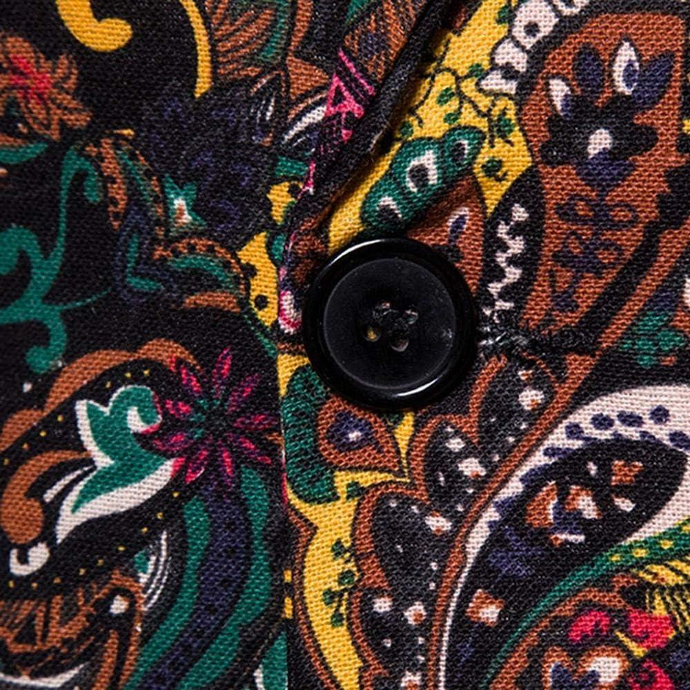 Doublehero Mens Suit Jackets Blazer Jacket Vintage Printed Slim Fit Formal Coat Autumn Winter Fashion Jacquard Party Wedding Casual Warm Coat Leisure Jacket Outwear Trench Coat