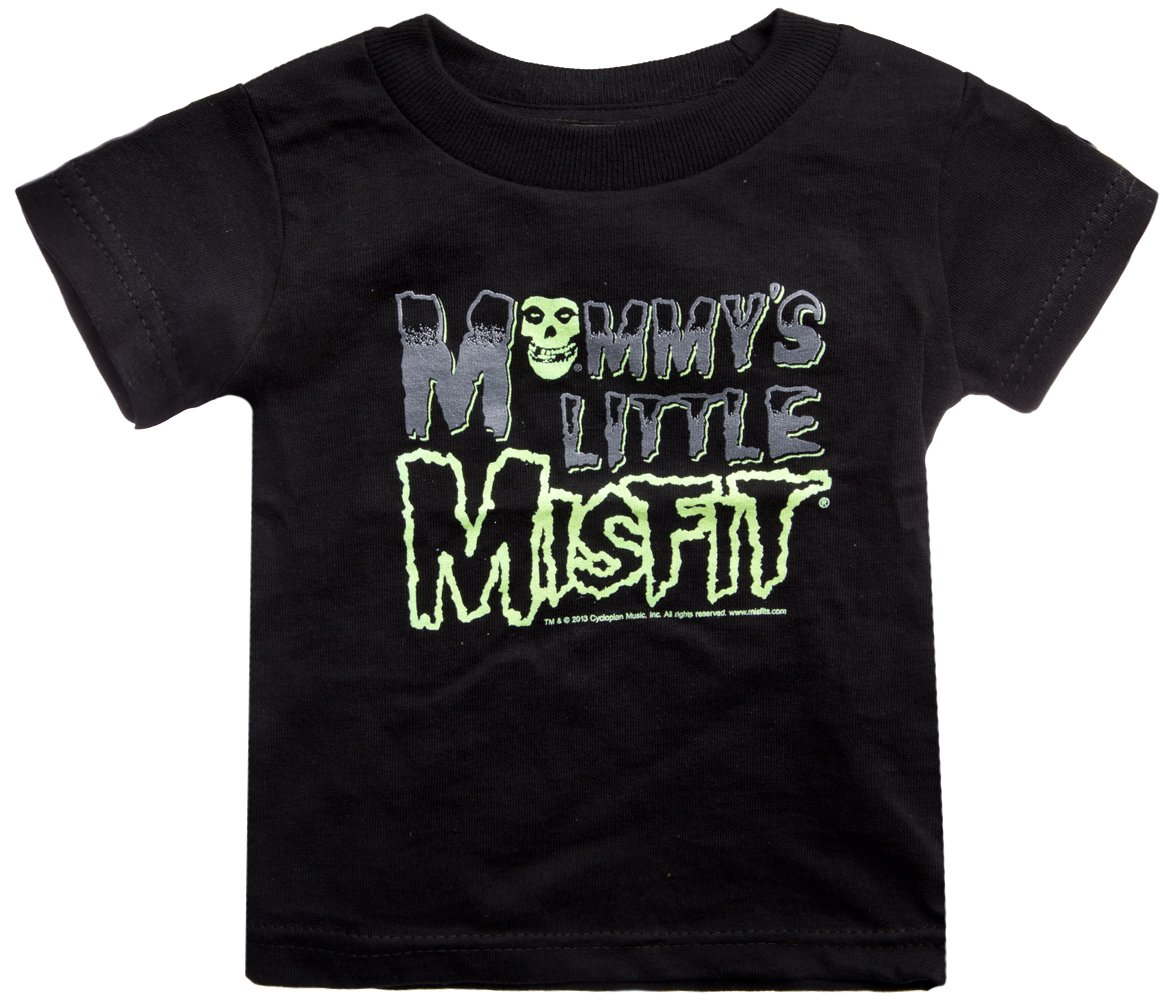 Sourpuss Mommy's Little Misfit Kids Tee 2T Black by Sourpuss