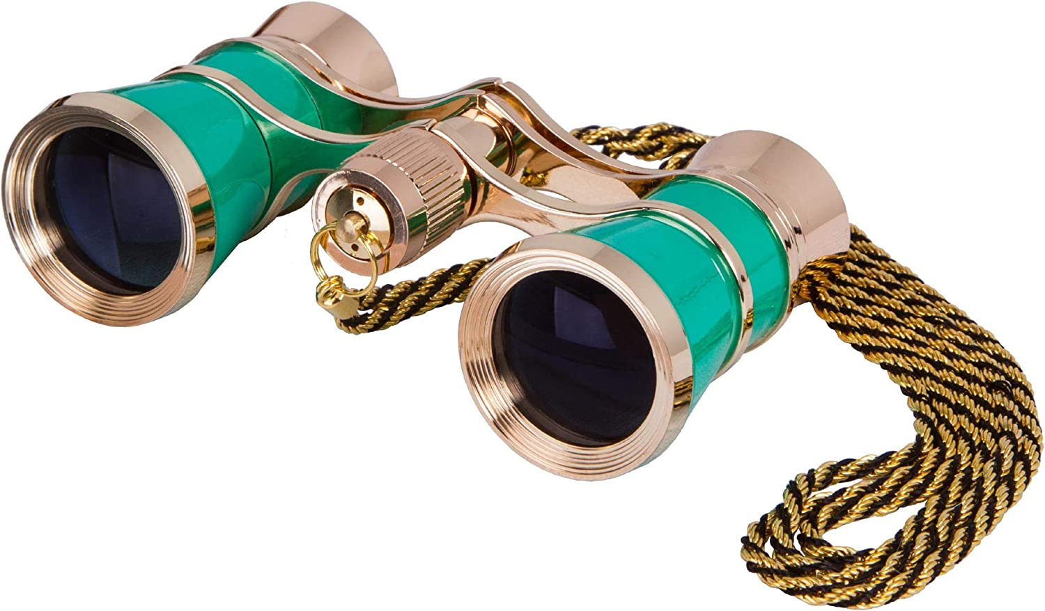 Levenhuk Broadway 325C Lime Opera Glasses – Theater Binoculars with Removable Chain