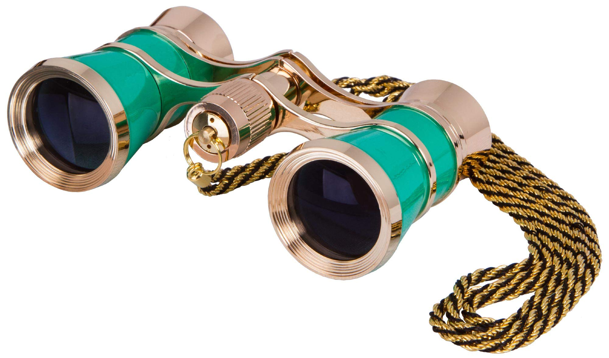 Levenhuk Broadway 325C Lime Opera Glasses - Theater Binoculars with Removable Chain by Levenhuk
