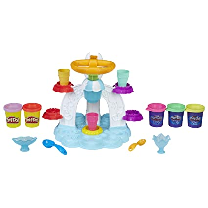 Play Doh Kitchen Creations Swirl U0027n Scoop Ice Cream
