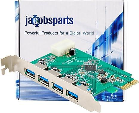 Amazon.com: protronix 4-Port USB 3.0 tarjeta de driver de ...