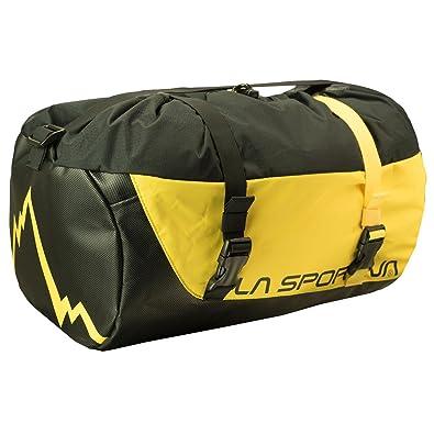 Unisex-Erwachsene Laspo Rope Bag Stofftasche, Gelb (Yellow), 24x15x45 centimeters La Sportiva