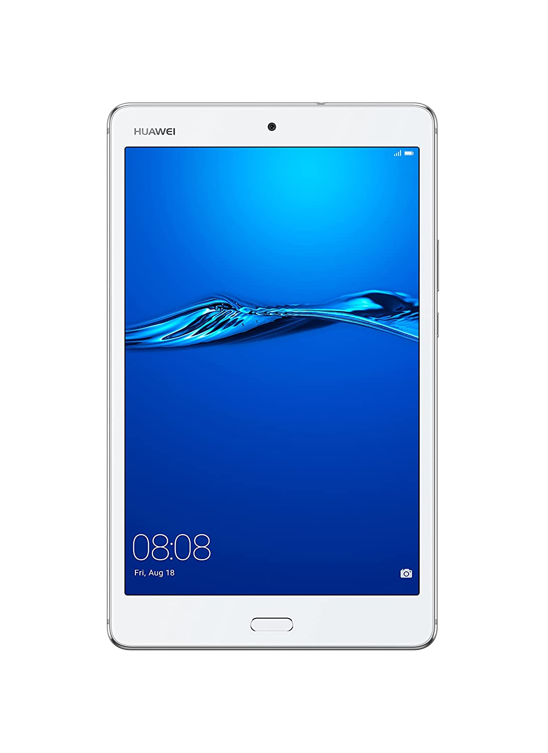 "Huawei Mediapad M3 Lite Wi-Fi Tablet PC, Display da 8"" IPS, CPU Snapdragon 435, 1.4 GHz, 3 GB di RAM, Memoria Interna da 32 GB, Bianco"