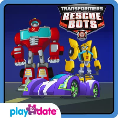 Transformers Rescue Bots Necesidad de velocidad