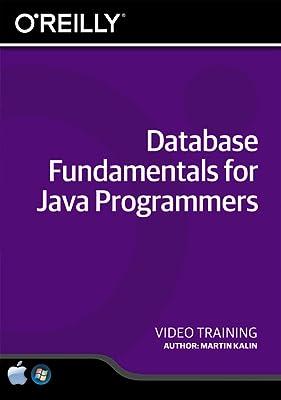 Database Fundamentals for Java Programmers [Online Code]