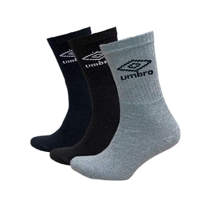 Umbro - Calcetines cortos - para hombre gris gris